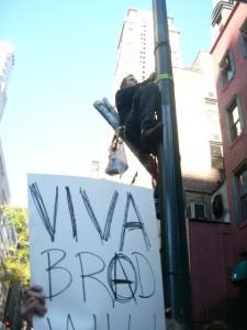 Viva Brad Climb Action